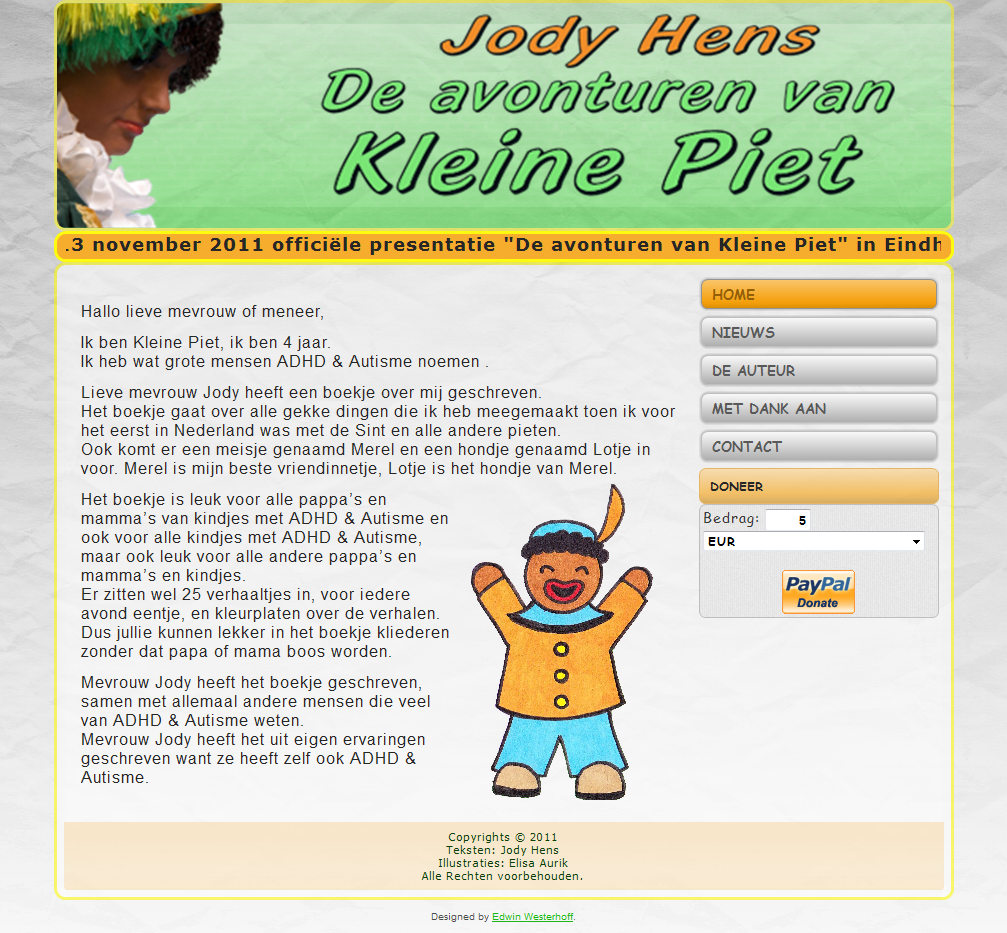 screenshot website Jody